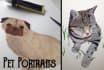 paint a portrait of your pet