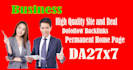 give link DA27x7 site blogroll permanent BUSINESS