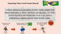 send 2 Wonderful Post Cards from Brazil with your Personal Message