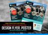 design PROFESSIONAL Poster , brochure , flyer in 12hrs