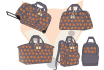 create fashion hand bag illustration