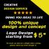 design unique and creative logo for you