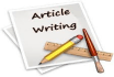 write English articles and blog posts