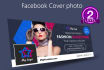 design a stunning and beautiful FACEBOOK cover