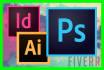 do any Photoshop, Indesign, illustrator job