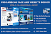 design landing page and website by Html5 Css3 Bootstrap
