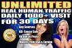 drive real unlimited website,USA traffic,visitors