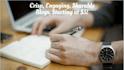 write a crisp blog post