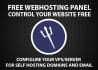 configure webserver on your vps or dedicated server