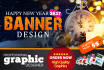 design stunning web, social media banners