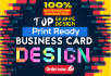 design GORGEOUS and Creative business card