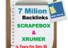 7 Million Backlinks List Xrumer and Scrapebox