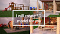 create 3D models for you