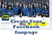 create your fan page