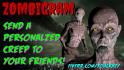 make a fun zombie video ecard for you