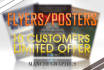 make an eye catching flyer or poster