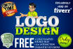 design 3 awesome logo in 24hrs with FREE Source Files