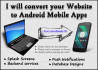 convert your website into Andriod Mobile apps
