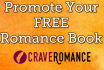 promote your FREE Romance Book to Readers on our Website