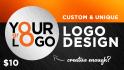 design custom and unique LOGO for your business