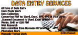 do data entry as a virtual assistant