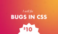 fix bugs in CSS
