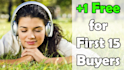 give you any THREE  Audiobooks from Audible in mp3