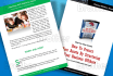 design the INTERIOR pages of ebook, making sure it is best form for the reader