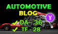 live guest post on DA36TF28 Automotive blog