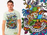 design the T shirt with Creative IDEAS with unlimited revisions