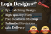design AWESOME logo with free bonus in 24 hours