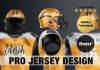 design sports jersey and create a mockup