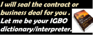 help you seal a deal, transact, interpret in Igbo language