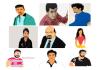 design convert your image into vector cartoon portrait