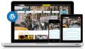 design a webpage with wordpress