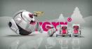 create Robotic Christmas Intro Video