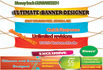 create Ultimate Web banners,header,covers within 24 hours