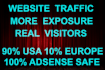 do UNLIMITED real and genuine social visitors