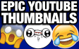 make amazing YouTube thumbnails and banners