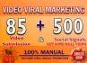 do manually  Video submission on 85 video sharing sites