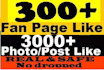 add Fanpage,Facebook,page in 24 hrs