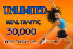 drive real,targeted 30k USA social,visitors to your site