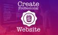 create an HTML website