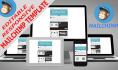 design fully editable Responsive email template