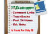317,804 auto approve Scrapebox backlinks