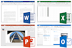 prepare Excel, PowerPoint and Word Projects