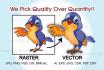 vectorize, convert your logo or graphic into vector