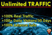 drive Real UNLIMITED Traffic for 30 Days