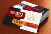 design professional and outstanding business card in 24 hr