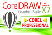 do any COREL Draw job Redraw, Vectorise, Recolor, Convert